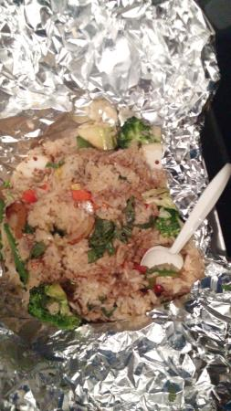 Ginger & Spice: Rice dish to go