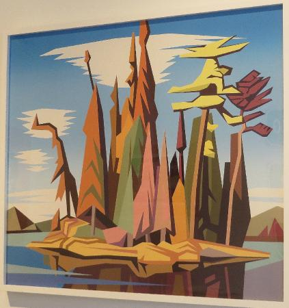Museum of Contemporary Canadian Art: reminds me of 'Little Island' by Casson