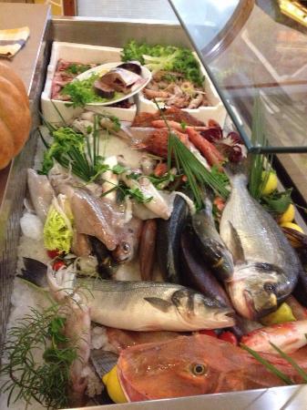Pietro il Pescatore : La vetrina del pesce :)
