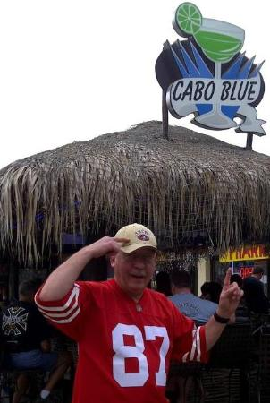 Cabo Blue: Great place to watch sports too