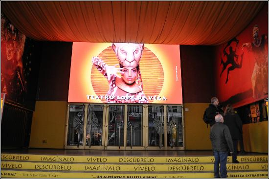 Lope de Vega Theater : Вход в театр
