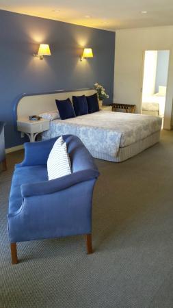 موتل دو لا مير: Motel room