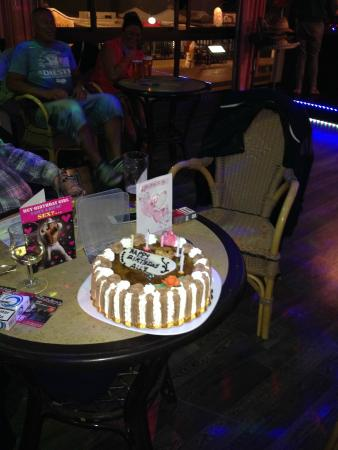 Ali S Birthday Cake Picture Of The Venue Puerto Del Carmen
