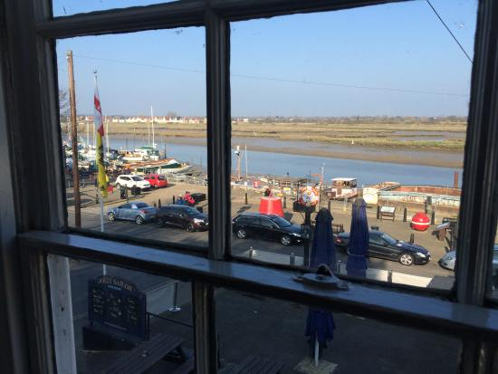 The Jolly Sailor: Lovely view from room