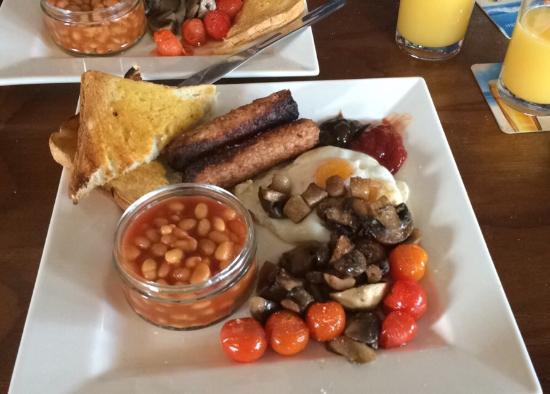 The Jolly Sailor: Yummy Vegetarian breakfast