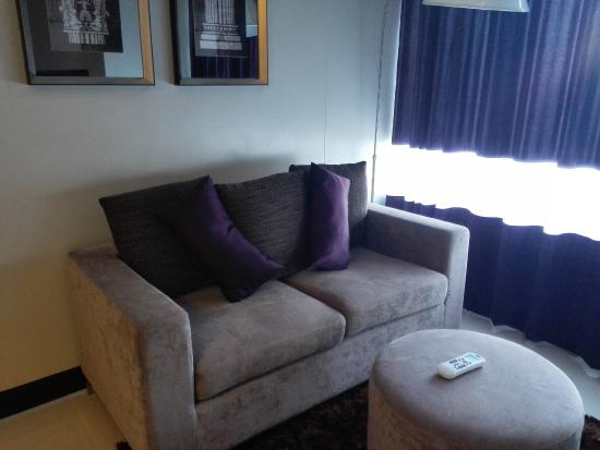 sofa - Picture of Versailles Stay, Makati - TripAdvisor