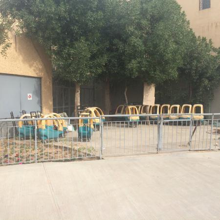 Riyadh Zoo: Машинки на прокат для малышей