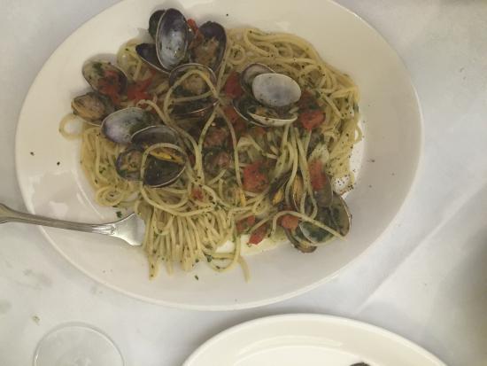Trattoria da Pino: Spaghetti vongole, perfecto!!!