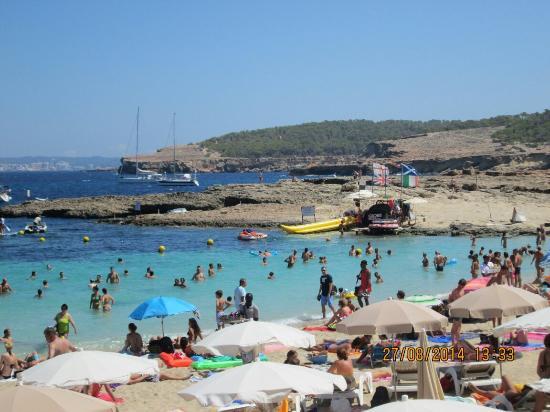 Playa de Cala Bassa: AGOSTO-2014