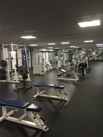 Radisson Edmonton South: One part of the gym