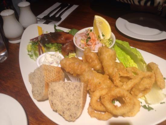 Fish platter starter