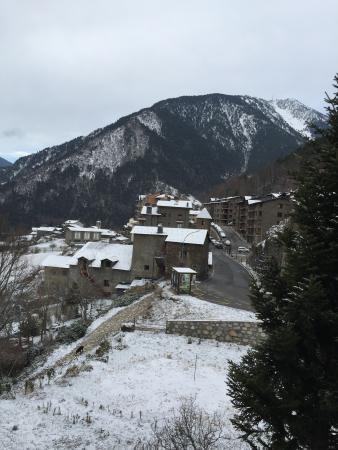 Hotel la burna, vistas desde la habitación