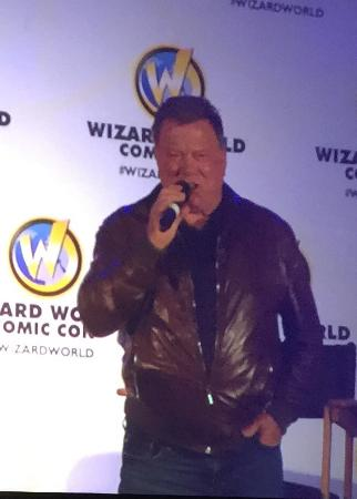 Raleigh Convention Center : Raleigh a Comic Con! Met William Shatner!