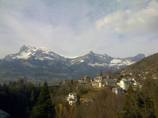 Hotel Liberty Mont Blanc : view from the dining room