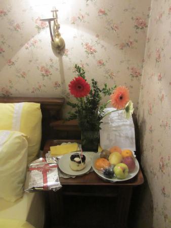 Dersaadet Hotel Istanbul: Birthday surprise from hotel staff! Wow!