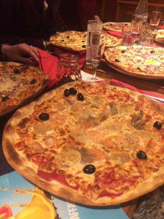 Le Debarcadere: Pizzas