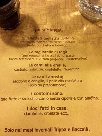 Trattoria Renzi: Qui si mangia: