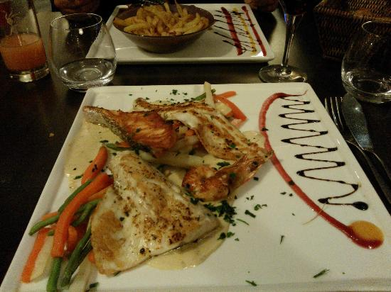 Bagnoles Hotel : Monkfish
