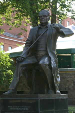 Zagir Ismagilov Statue