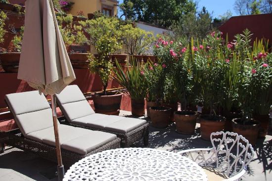 Casa Misha: Room patio