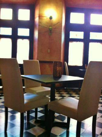 La Terraza de San Juan : Dining area