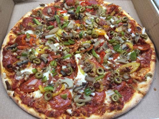 Tony's Pizzeria: The Works in all of its glory