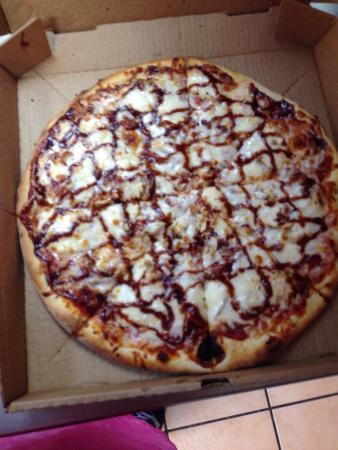 Venice Pizza : Bbq ckn pizza