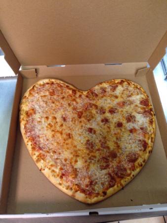 Venice Pizza : ValentinesDay pizza