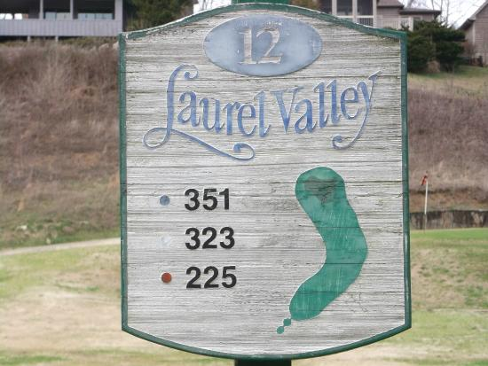Townsend, TN: Laurel Valley Golf Course- March 2015