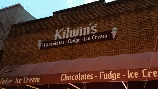 Kilwins Choclate Fudge and Ice Cream