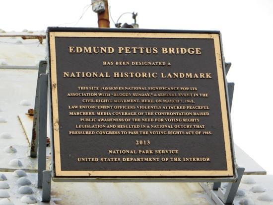 Selma to Montgomery Highway: Landmark status