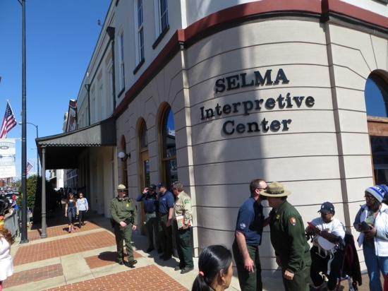 Selma to Montgomery Highway: Selma NPS visitor center