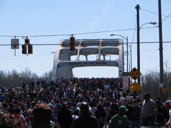 Selma to Montgomery Highway: Jubilee Bridge Crossing 2015