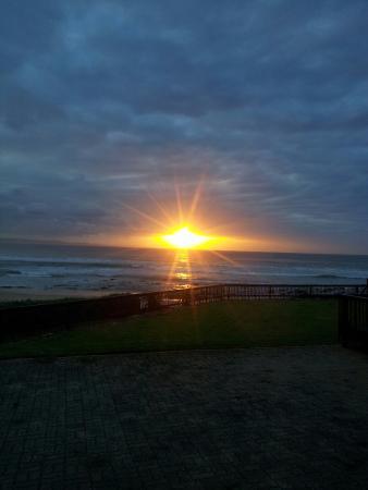 Jeffrey's Bay Beach House: Sonnenaufgang aus dem Zimmer raus