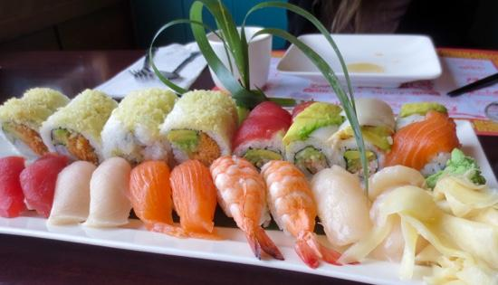 Amherst, MA: Vibrant and fresh maki and sushi