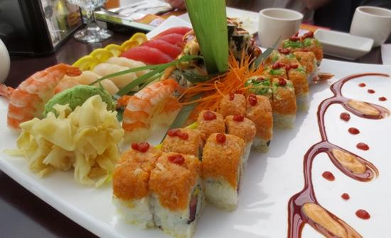 Amherst, MA: Place to go for great sushi and maki