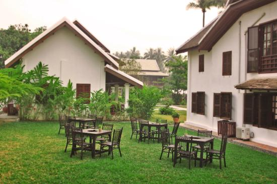Cosy hangout area within hotel compound