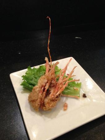 Izaka-Ya by Katsu-Ya: Remainder of the sweet shrimp