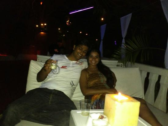 Arpora, India: Partied all night on my b'day!! Thoroughly enjoyed the experience..