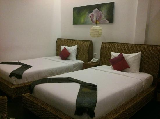 Monsoon Boutique Hotel : Our room at the Moonson Hotel in Phnom Penh