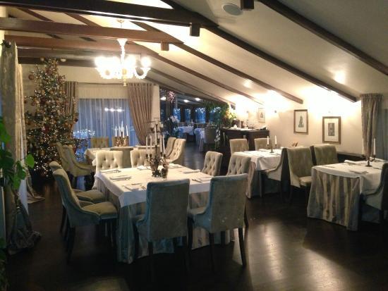 Pusu Paunksneje Hotel: ресторан