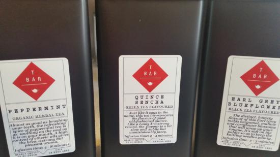 Qualia: Tassie's only stockist of TBar boutique tea range
