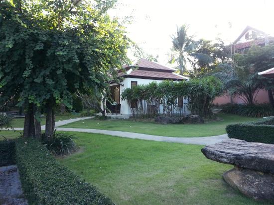 Dreams Villa Resort: Прелестные лужайки