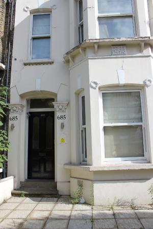 Clapham Guest House : Eingang zum Guesthouse