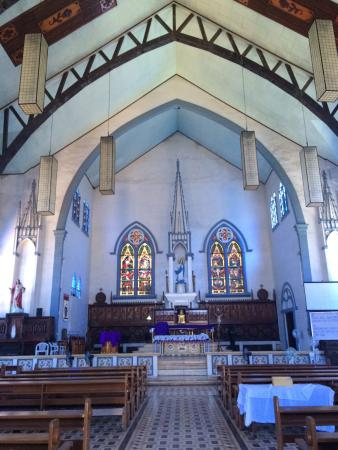 Immaculate Conception Cathedral : The inside