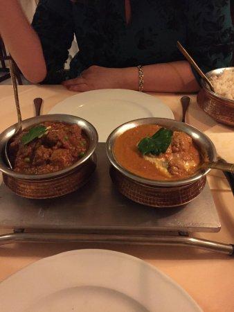 Restaurant Taj Mahal: Основные блюда