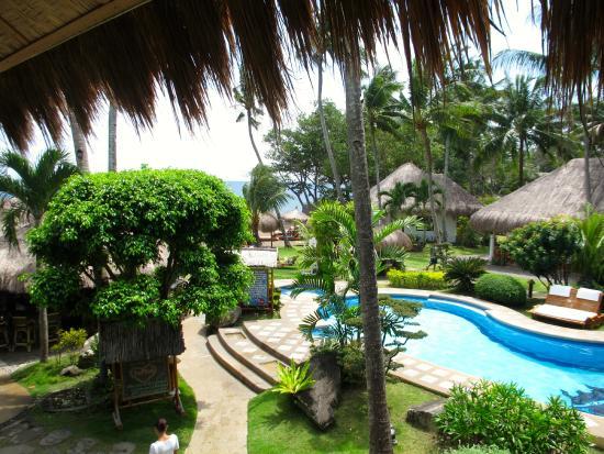 Pura Vida Beach Dive Resort Bilck Vom Frühstücksraum