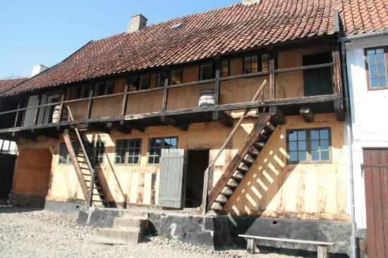 Den Gamle By: Innenhof aus dem 18./19. Jhd.