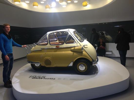 BMW Museum: И кто в такую мог поместиться)