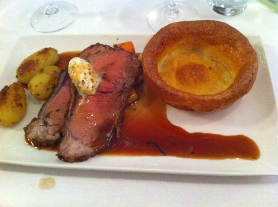 Roast Beef and Yorkshire Pud - Marcel's
